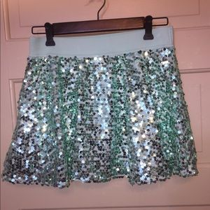 Justice Sequin Skirt